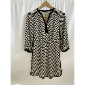 Banana Republic 3/4 Sleeve Shirt Dress Size 2